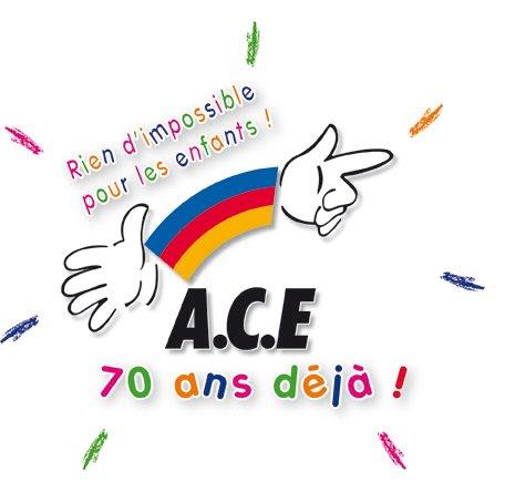 l'ACE, 70 ans et toujours dans le coup ! dans mouvements logo70anniv